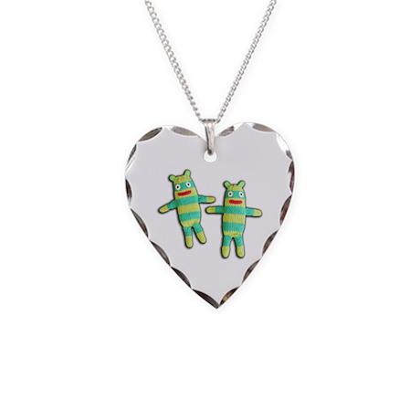 Bob-Jack Necklace Heart Charm