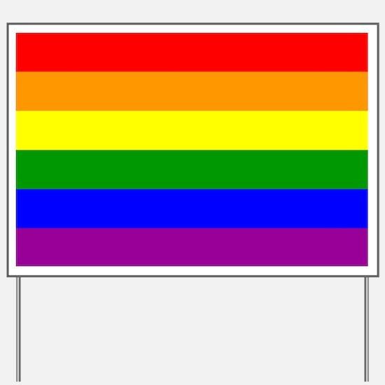 Gay Pride Yard Sign