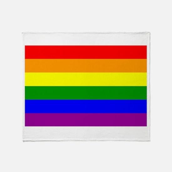 Gay Pride Throw Blanket