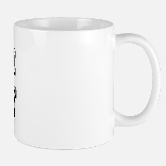 Team Toby Black Mug