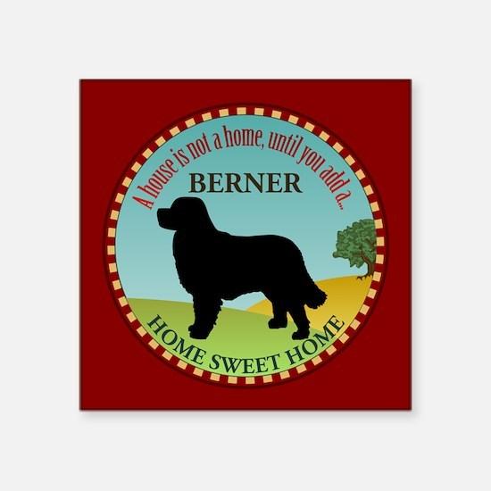 "Bernese Square Sticker 3"" x 3"""