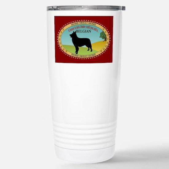 Belgian Shepherd Stainless Steel Travel Mug