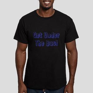 Get Under The Bus Men's Fitted T-Shirt (dark)