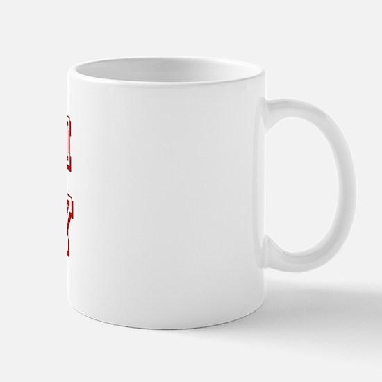 Team Toby Red Mug