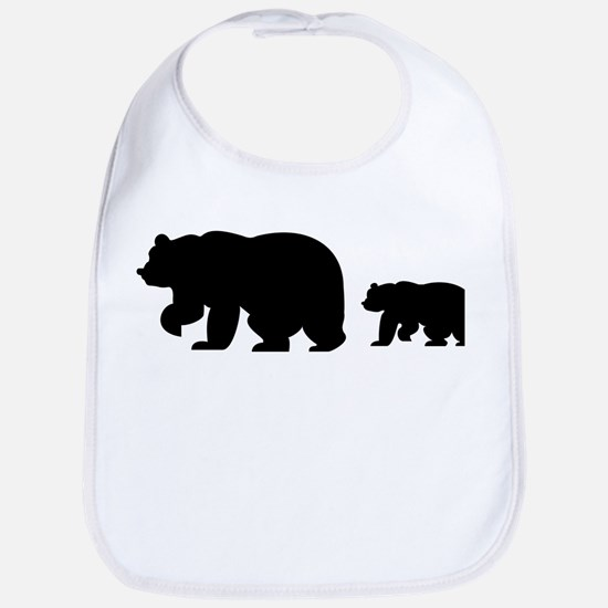 Bear Migration Icon Bib