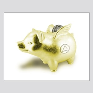 AA Pigs Fly - Small Poster