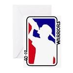 40-oz Logo - Greeting Cards (Pk of 10)