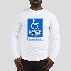 No Parking Blog Long Sleeve T-Shirt