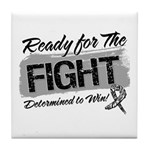 Ready Fight Carcinoid Cancer Tile Coaster