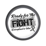 Ready Fight Carcinoid Cancer Wall Clock