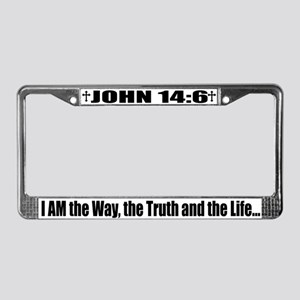iambottom License Plate Frame