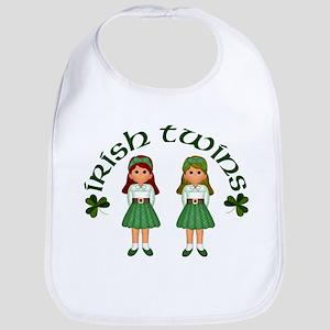 Irish Twins 2 Bib