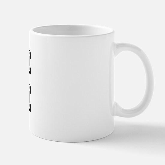 Team Josh Black Mug