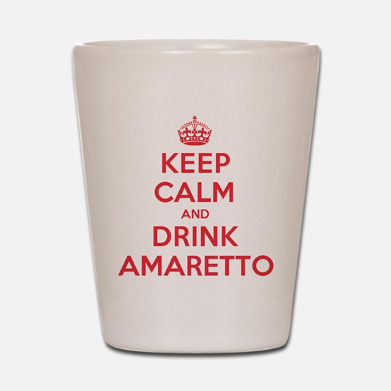 K C Drink Amaretto Shot Glass