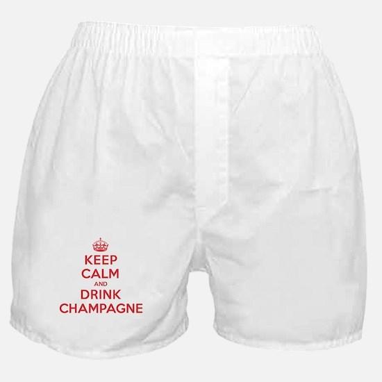 K C Drink Champagne Boxer Shorts