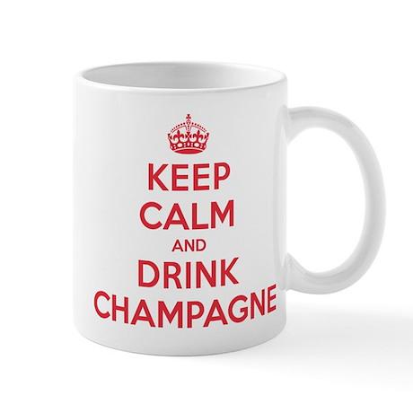 K C Drink Champagne Mug