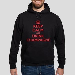 K C Drink Champagne Hoodie (dark)