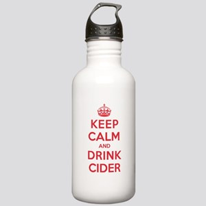 K C Drink Cider Stainless Water Bottle 1.0L