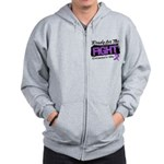 Ready Fight GIST Cancer Zip Hoodie
