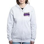 Ready Fight GIST Cancer Women's Zip Hoodie