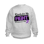 Ready Fight GIST Cancer Kids Sweatshirt