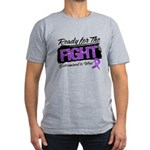 Ready Fight GIST Cancer Men's Fitted T-Shirt (dark