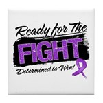 Ready Fight GIST Cancer Tile Coaster