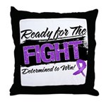 Ready Fight GIST Cancer Throw Pillow