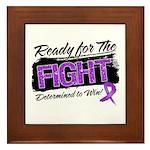 Ready Fight GIST Cancer Framed Tile
