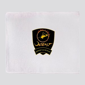 Outcast Patch Throw Blanket