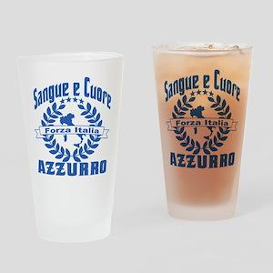 Italian World Cup Soccer Drinking Glass