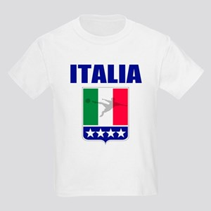 Italian World Cup Soccer Kids Light T-Shirt
