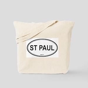 St Paul (Minnesota) Tote Bag