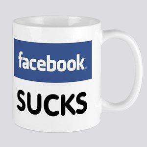 Facebook Sucks Mug
