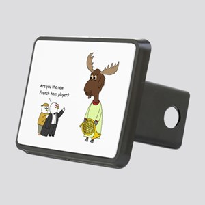 New French Horn Player Rectangular Hitch Cover