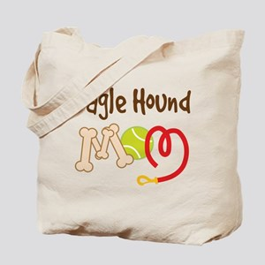 Bagle Hound Dog Mom Tote Bag