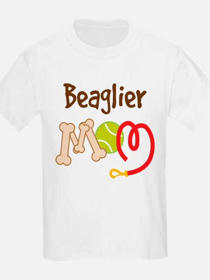 Beaglier Dog Mom T-Shirt