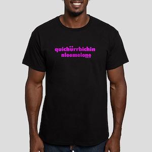 Quit Your Bitchin' Men's Fitted T-Shirt (dark)