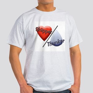 Shipper/Thunker Ash Grey T-Shirt