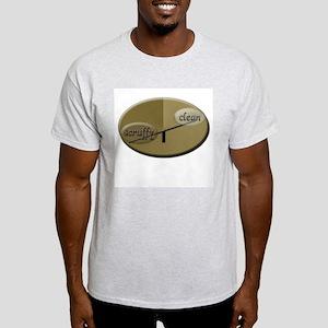Scruffy/Clean Ash Grey T-Shirt