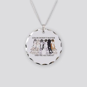 N Pet All Great Necklace Circle Charm