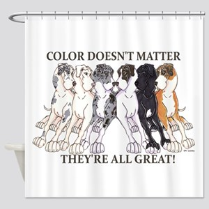 N Pet All Great Shower Curtain