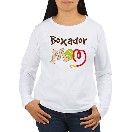 Boxador Dog Mom Women's Long Sleeve T-Shirt