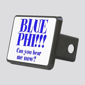 Blue Phi!! Rectangular Hitch Cover