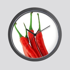 Chili Wall Clock