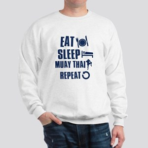 Eat Sleep Muay Thai Sweatshirt