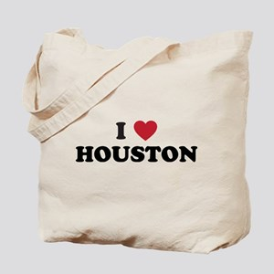 I Love Houston Texas Tote Bag