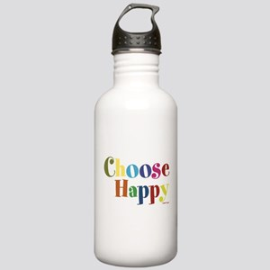 Choose Happy Stainless Water Bottle 1.0L