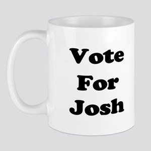 Vote for Josh (Black) Mug