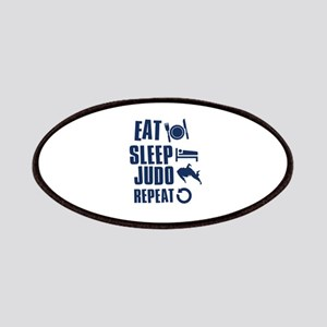Eat Sleep Judo Patches